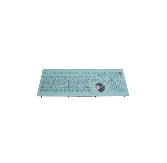 IP68 Industrial Keyboard Membrane - Panel Mount Trackball