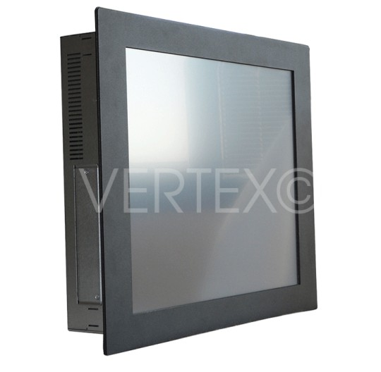 19 inches Lizard Steel Industrial Monitor - Panel Mount IP65 RAL9005