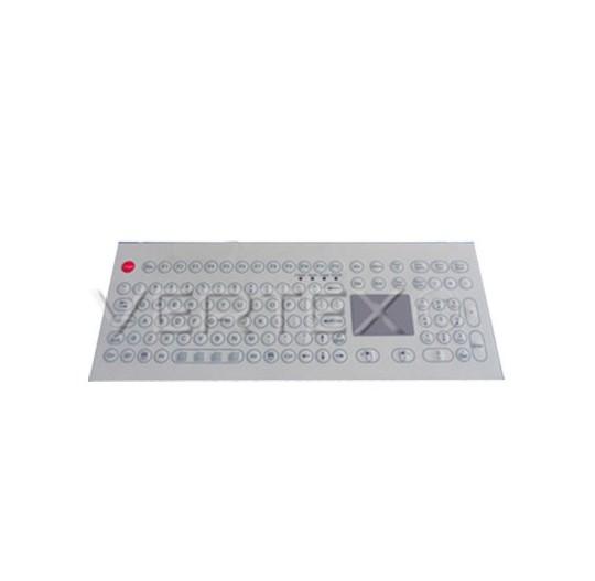 Clavier Industriel Desktop IP65 à Membrane - Touchpad