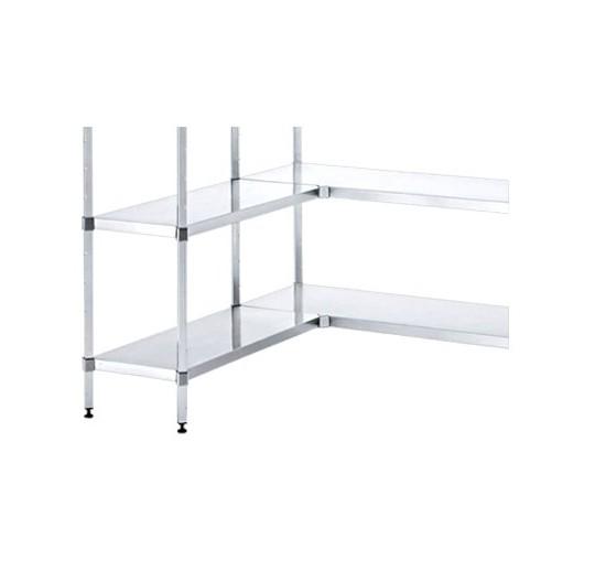 steel shelving. Black Bedroom Furniture Sets. Home Design Ideas