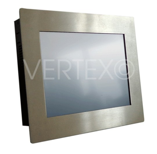 "Panel PC 10,4"" Inox - Ligne Lizard - IP65"